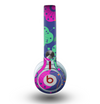 The Bright Colorful Flower Sprouts Skin for the Beats by Dre Mixr Headphones
