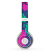 The Bright Colored Cartoon Flowers Skin for the Beats by Dre Solo 2 Headphones