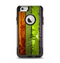 The Bright Colored Peeled Wood Planks Apple iPhone 6 Otterbox Commuter Case Skin Set