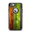 The Bright Colored Peeled Wood Planks Apple iPhone 6 Otterbox Defender Case Skin Set