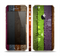 The Bright Colored Peeled Wood Planks Skin Set for the Apple iPhone 5s