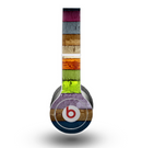 The Bright Colored Peeled Wood Planks Skin for the Beats by Dre Original Solo-Solo HD Headphones
