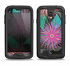 The Bright Colorful Flower Sprouts Samsung Galaxy S4 LifeProof Fre Case Skin Set