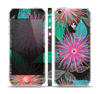 The Bright Colorful Flower Sprouts Skin Set for the Apple iPhone 5