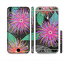 The Bright Colorful Flower Sprouts Sectioned Skin Series for the Apple iPhone 6