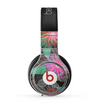 The Bright Colorful Flower Sprouts Skin for the Beats by Dre Pro Headphones