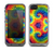 The Bright Colorful Tie Dyed Skin for the Apple iPhone 5c LifeProof Fre Case