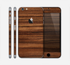 The Bright Ebony Woodgrain Skin for the Apple iPhone 6 Plus