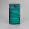 The Bright Emerald Green Wood Planks Skin-Sert Case for the Samsung Galaxy Note 3