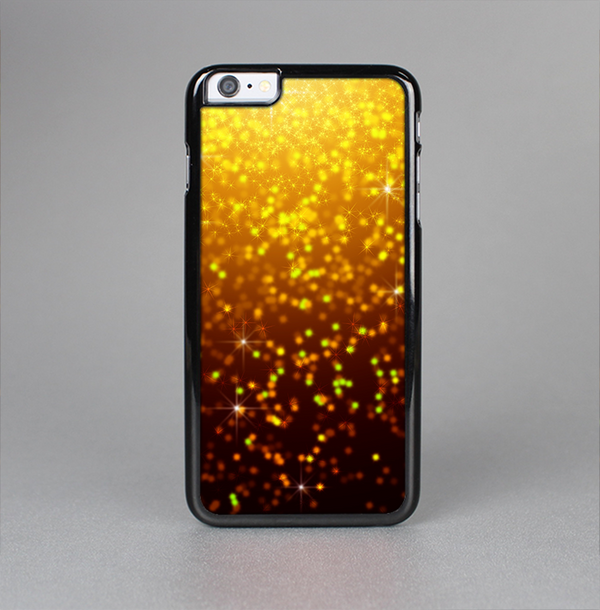 The Bright Gold Glowing Sparks Skin-Sert Case for the Apple iPhone 6 Plus