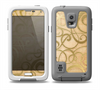 The Bright Gold Spiral Wood Pattern Skin Samsung Galaxy S5 frē LifeProof Case