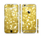 The Bright Golden Unfocused Droplets Sectioned Skin Series for the Apple iPhone 6s