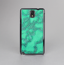 The Bright Green Textile Lace Skin-Sert Case for the Samsung Galaxy Note 3
