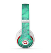 The Bright Green Textile Lace Skin for the Beats by Dre Studio (2013+ Version) Headphones