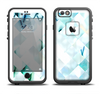 The Bright Highlighted Tile Pattern Apple iPhone 6/6s LifeProof Fre Case Skin Set