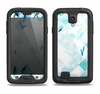 The Bright Highlighted Tile Pattern Samsung Galaxy S4 LifeProof Fre Case Skin Set