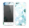 The Bright Highlighted Tile Pattern Skin for the Apple iPhone 5s