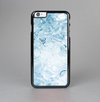 The Bright Light Blue Swirls with Butterflies Skin-Sert Case for the Apple iPhone 6 Plus