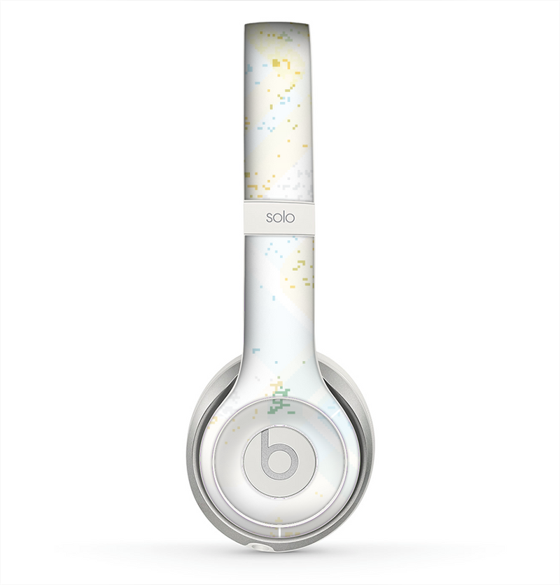 The Bright Light Vintage Yellow Surface Skin for the Beats by Dre Solo 2 Headphones