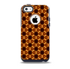 The Bright Orange Geometric Design Pattern Skin for the iPhone 5c OtterBox Commuter Case