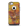 The Bright Orange Torn Posters Skin for the iPhone 5c OtterBox Commuter Case