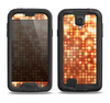 The Bright Orange Unfocused Circles Samsung Galaxy S4 LifeProof Fre Case Skin Set