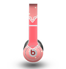The Bright Pink Heart Lace V3 Skin for the Beats by Dre Original Solo-Solo HD Headphones