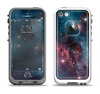 The Bright Pink Nebula Space Apple iPhone 5-5s LifeProof Fre Case Skin Set