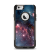The Bright Pink Nebula Space Apple iPhone 6 Otterbox Commuter Case Skin Set
