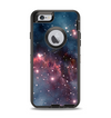 The Bright Pink Nebula Space Apple iPhone 6 Otterbox Defender Case Skin Set