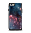 The Bright Pink Nebula Space Apple iPhone 6 Otterbox Symmetry Case Skin Set