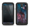 The Bright Pink Nebula Space Samsung Galaxy S4 LifeProof Fre Case Skin Set