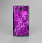 The Bright Pink & Purple Floral Paisley Skin-Sert Case for the Samsung Galaxy Note 3