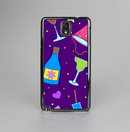 The Bright Purple Party Drinks Skin-Sert Case for the Samsung Galaxy Note 3