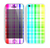 The Bright Rainbow Plaid Pattern Skin for the Apple iPhone 5c