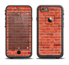 The Bright Red Brick Wall Apple iPhone 6/6s LifeProof Fre Case Skin Set