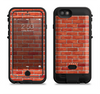 The Bright Red Brick Wall Apple iPhone 6/6s LifeProof Fre POWER Case Skin Set