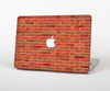 The Bright Red Brick Wall Skin for the Apple MacBook Pro 15""