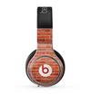 The Bright Red Brick Wall Skin for the Beats by Dre Pro Headphones