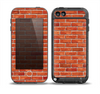 The Bright Red Brick Wall Skin for the iPod Touch 5th Generation frē LifeProof Case