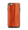 The Bright Red Stained Wood Apple iPhone 6 Plus Otterbox Symmetry Case Skin Set