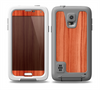 The Bright Red Stained Wood Skin for the Samsung Galaxy S5 frē LifeProof Case