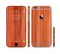The Bright Red Stained Wood Sectioned Skin Series for the Apple iPhone 6s