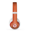 The Bright Red Stained Wood Skin for the Beats by Dre Studio (2013+ Version) Headphones