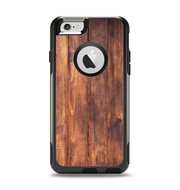 The Bright Stained Wooden Planks Apple iPhone 6 Otterbox Commuter Case Skin Set