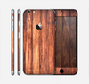 The Bright Stained Wooden Planks Skin for the Apple iPhone 6 Plus