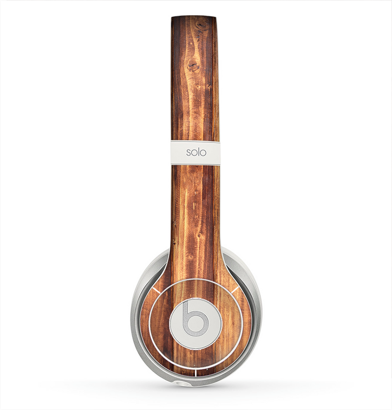The Bright Stained Wooden Planks Skin for the Beats by Dre Solo 2 Headphones