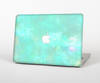 The Bright Teal WaterColor Panel Skin for the Apple MacBook Pro 13""