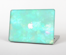 "The Bright Teal WaterColor Panel Skin Set for the Apple MacBook Pro 15"" with Retina Display"