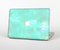 The Bright Teal WaterColor Panel Skin for the Apple MacBook Pro Retina 15""